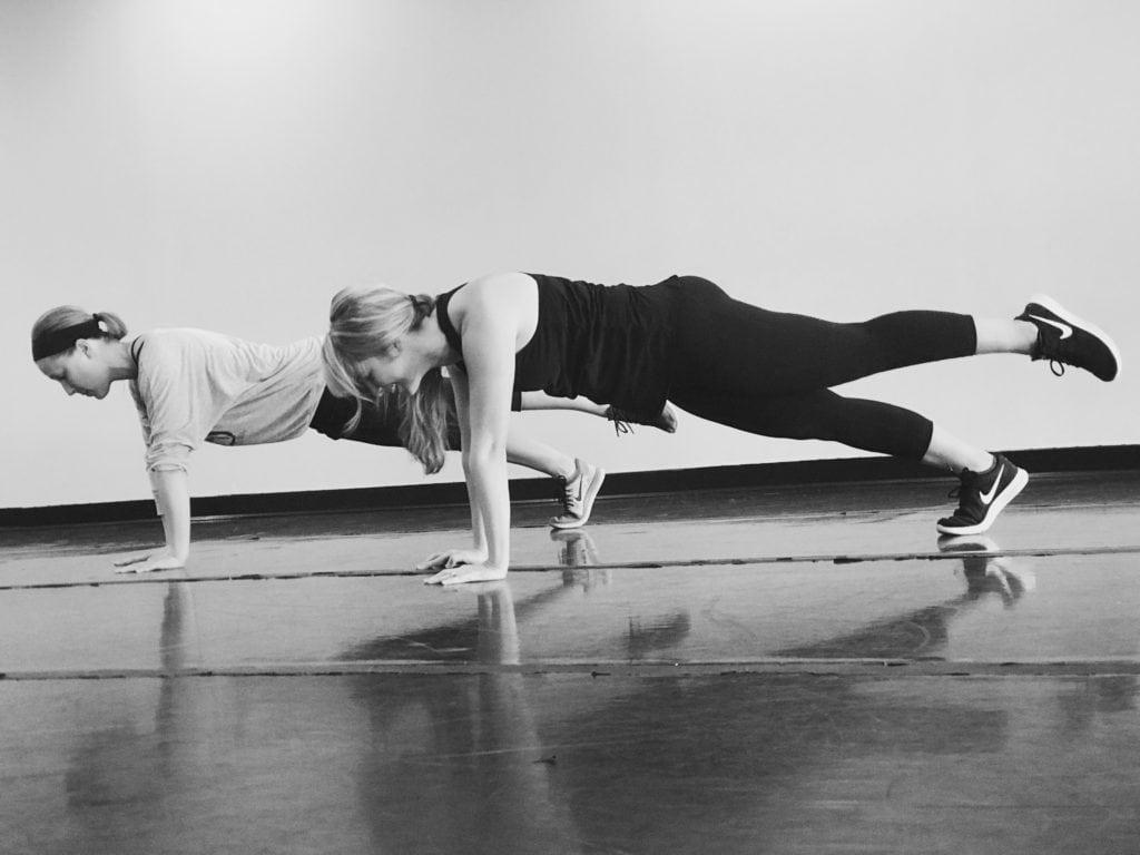 Ballet Burn Planks