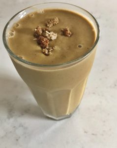 The Dizzy Cook HYH Sunflower Butter Smoothie