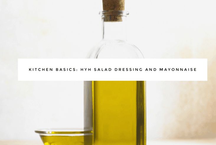 The Dizzy Cook HYH Safe Salad Dressings and Mayonnaise