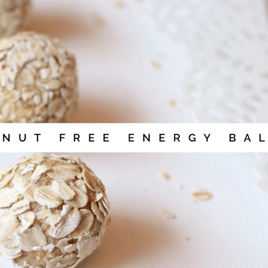 The Dizzy Cook Nut Free, Gluten Free Energy Balls
