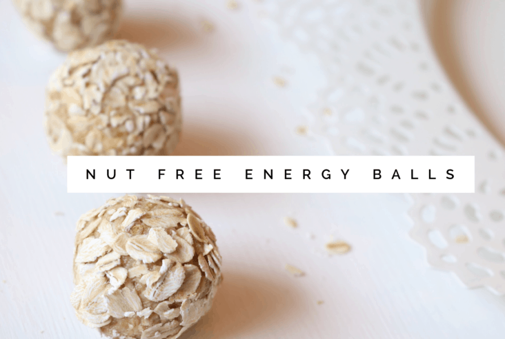 The Dizzy Cook Nut Free, Gluten Free Energy Balls