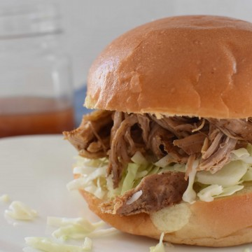 The Dizzy Cook Pulled Pork Sandwich
