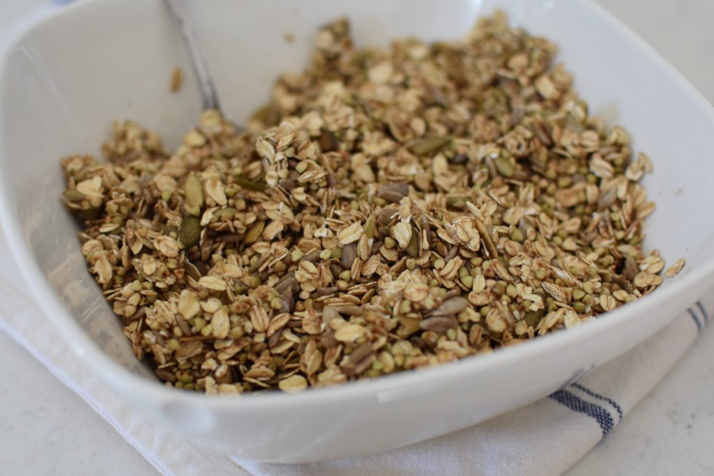 The Dizzy Cook Buckwheat Granola