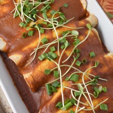 Heal Your Headache Beef Enchiladas with MSG Free Enchilada Sauce