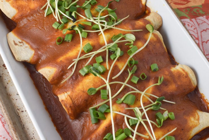 Heal Your Headache Beef Enchiladas with MSG Free Enchilada Sauce