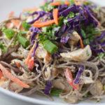 Sunbutter Soba Noodle Salad