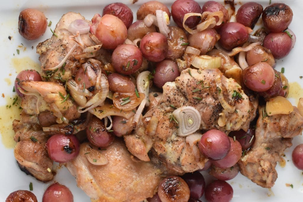 Smitten Kitchen's Harvest Chicken with Grapes and Rosemary - Migraine Safe Version Three Ways