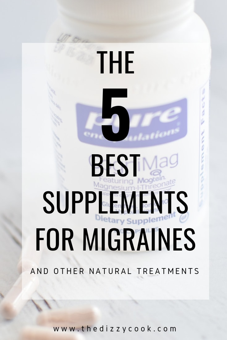 Natural Treatments For Migraines | The Dizzy Cook