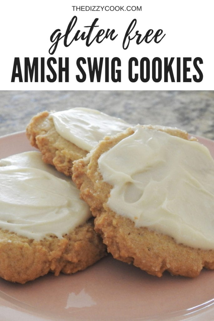 "almost amish butter ""swig"" cookies that are gluten free and delicious 