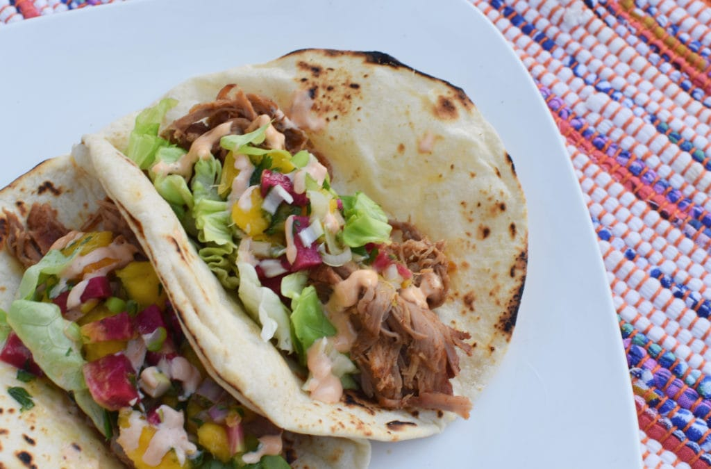 Mexican Pulled Pork Tacos with Mango Salsa - Migraine Diet and Heal Your Headache Safe