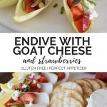 Endive Boats with Goat Cheese