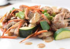 Chicken and Vegetable Stir Fry | Soy Free and Migraine Friendly