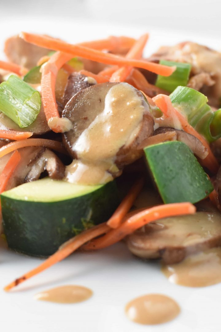Chicken and Vegetable Stir Fry   Soy Free and Migraine Friendly