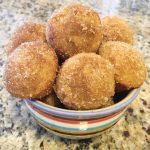 Gluten Free Apple Cider Donut Holes - Cinnamon Sugar and Glazed | Migraine Diet and Heal Your Headache