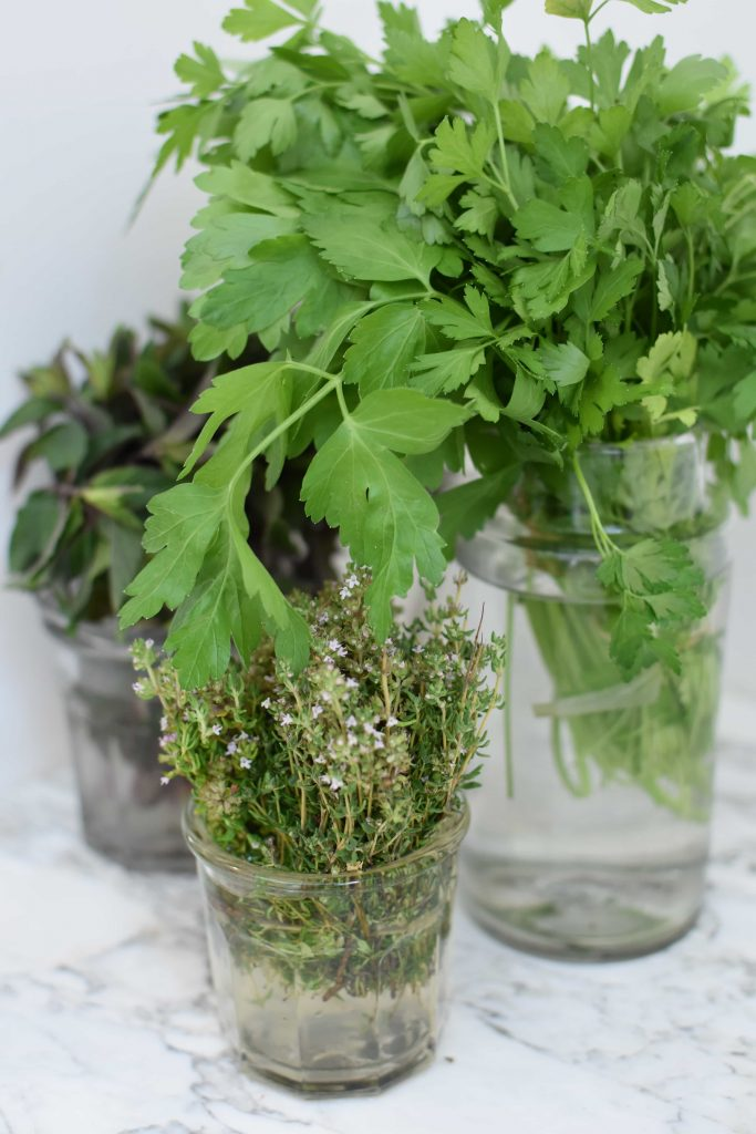 How to store fresh herbs so they'll last longer