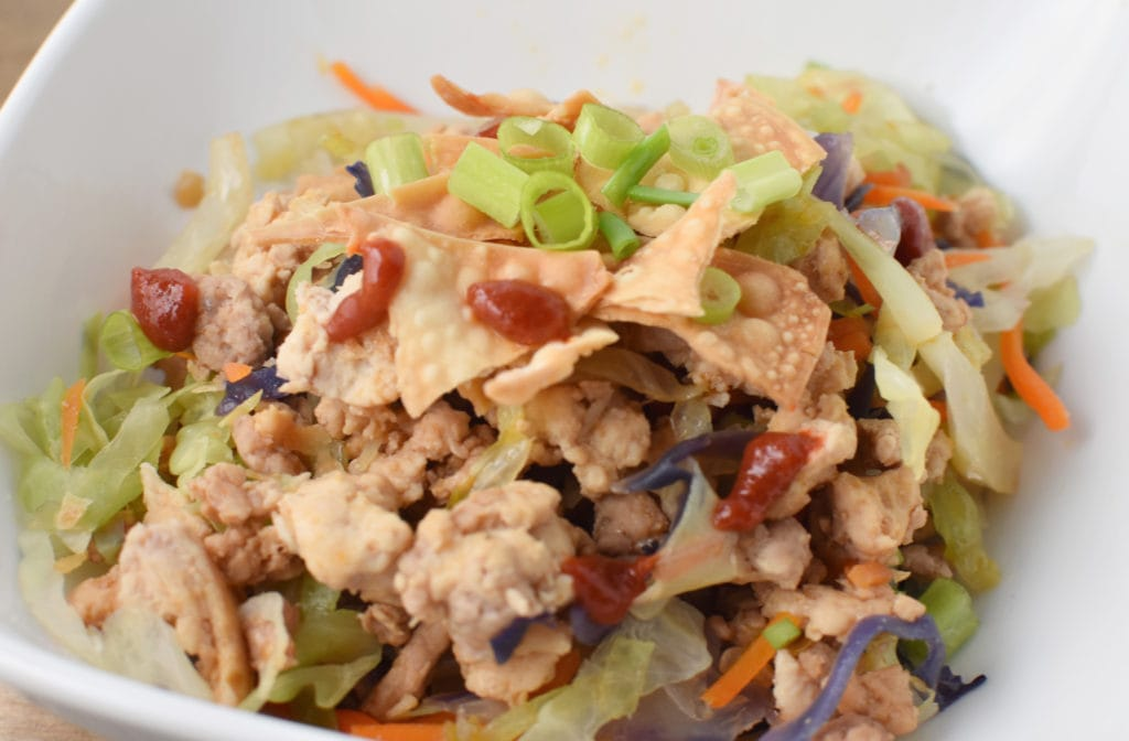The Best Healthy Egg Roll Bowl | Migraine Safe and Heal Your Headache Diet