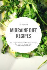 Migraine Diet Recipes | The Dizzy Cook | HYH Heal Your Headache Diet