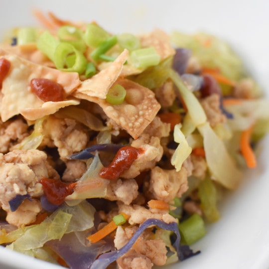 The Best Healthy Egg Roll Bowl   Migraine Safe and Heal Your Headache Diet