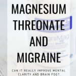 magnesium threonate for migraine and vestibular migraine. this supplement is wonderful for brain fog and mental clarity #migrainerelief #migraineremedies