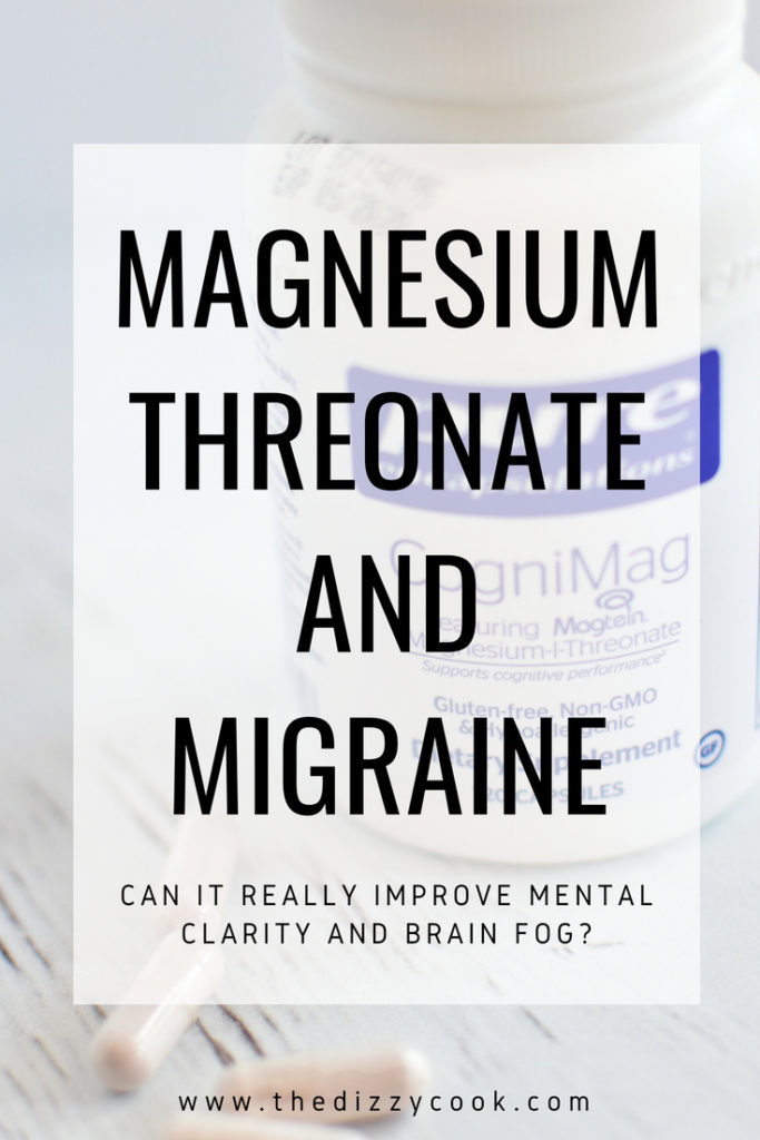 magnesium threonate for migraine and vestibular migraine. this supplement is wonderful for brain fog and mental clarity #migrainerelief #migraineremedies