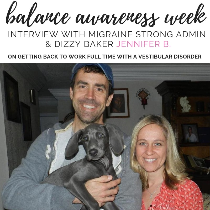 Life with a vestibular disorder or migraine can be tough. This week I'm sharing interviews from fellow migraine warriors about their lives with chronic illness. #balanceawarenessweek2018 #vestibularmigraine #migrainerelief