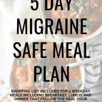 Migraine Diet Meal Plan