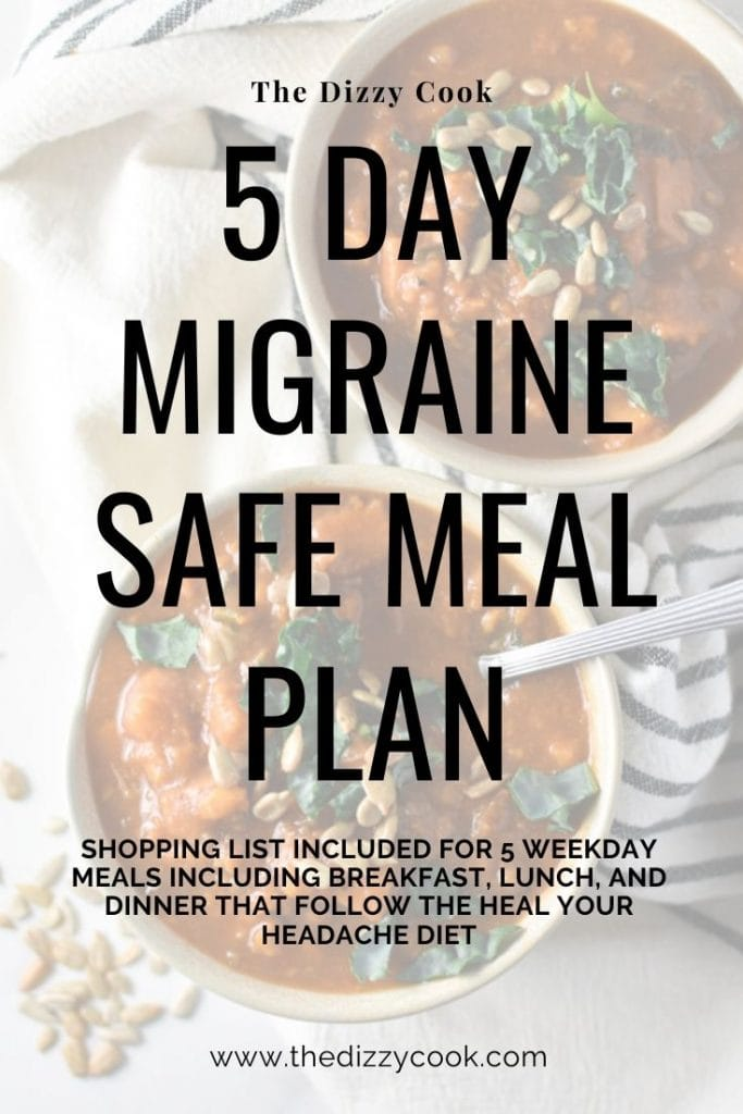 Migraine Diet Meal Plan