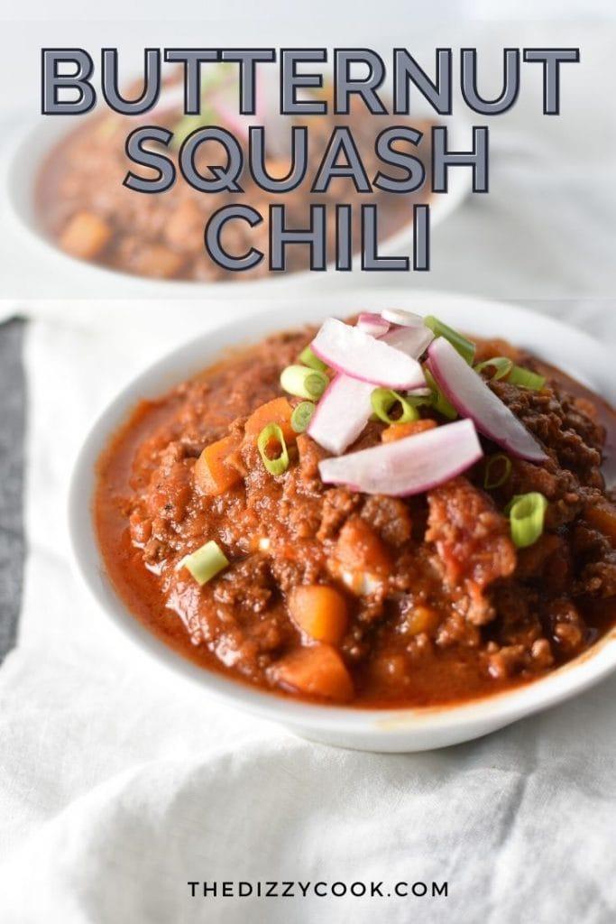 Bean-free butternut squash chili