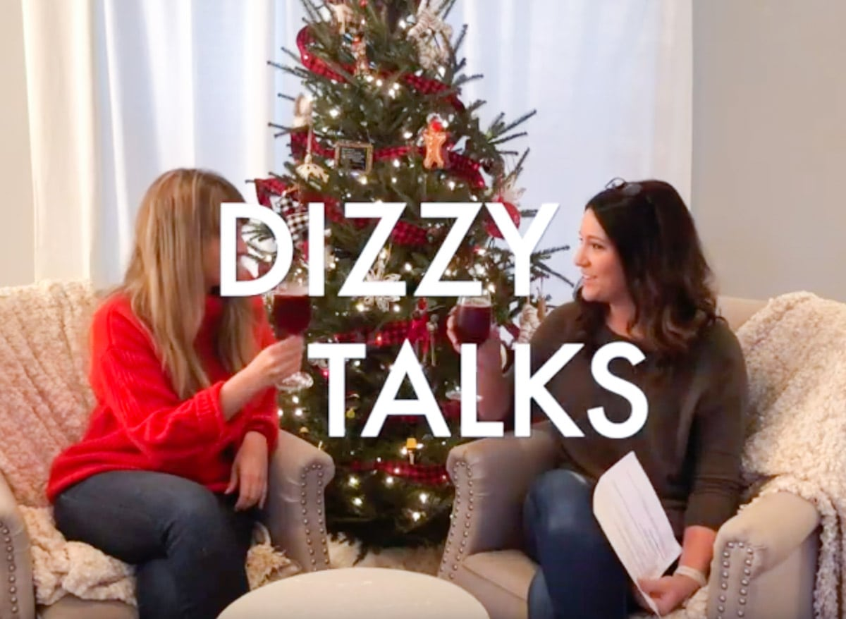 Dizzy Talks with Kayla and Alicia about managing your Vestibular Migraine through the holidays #migraine #vestibulardisorder #vestibularmigraine