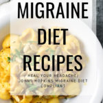 Looking for recipes that follow the Heal Your Headache Migraine Diet (HYH) or Johns Hopkins Migraine Diet? These low tyramine, gluten free recipes will reduce food triggers associated with migraine. #migrainediet #migraine #recipes #healyourheadache #glutenfree