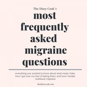 most frequently asked vestibular migraine questions