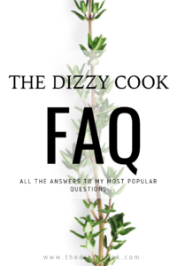 The Dizzy Cook answers FAQ's about her migraine treatment plan - diets, medications, supplements, and more for vestibular migraine. #chronicillness #migraine #migraineprevention #vestibularmigraine