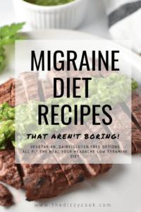Migraine diet recipes