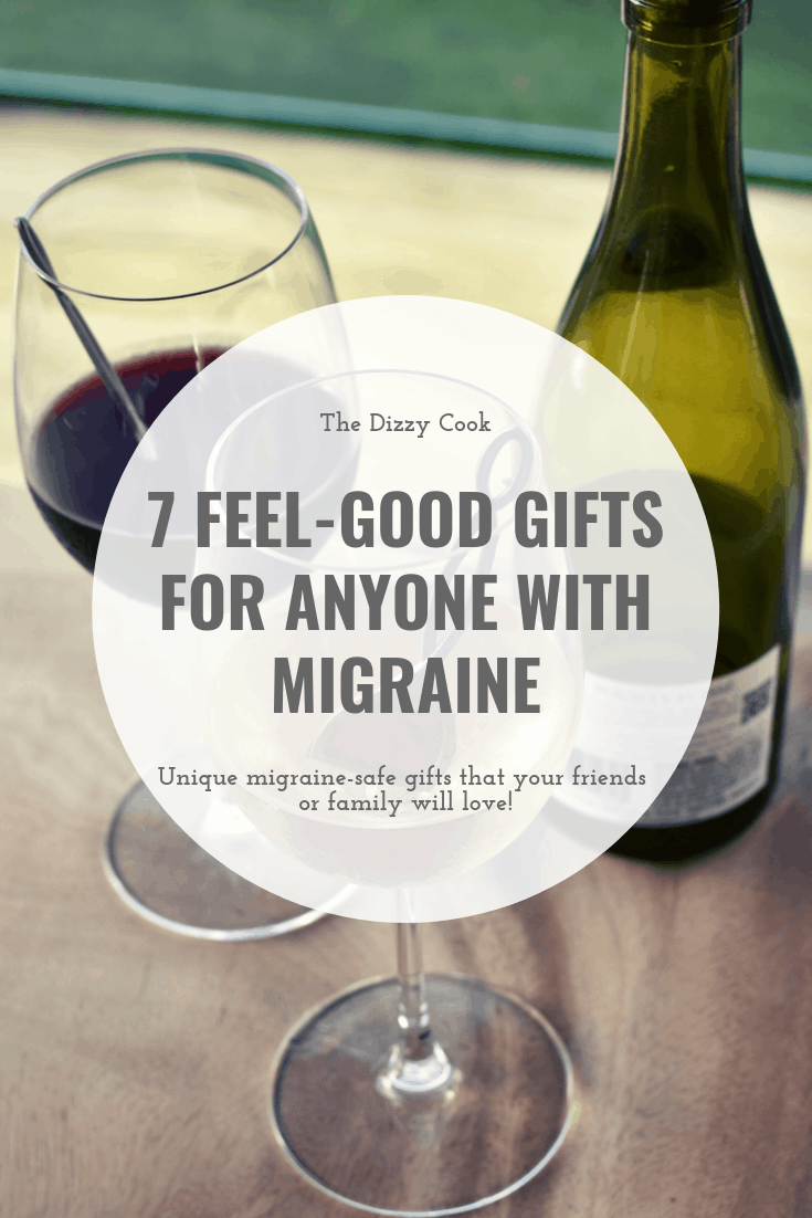 7 great gifts for anyone with a migraine or vestibular disorder - give them something that will make their lives a little bit easier this Mother's Day. #migraine #vestibularmigraine