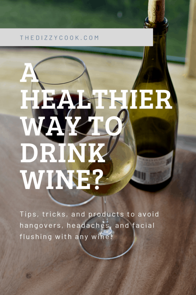 Learn about wine myths and tips to avoid the dreaded wine headache, stomach upset, or hangover symptoms with any wine. #wine #migraine #winetips