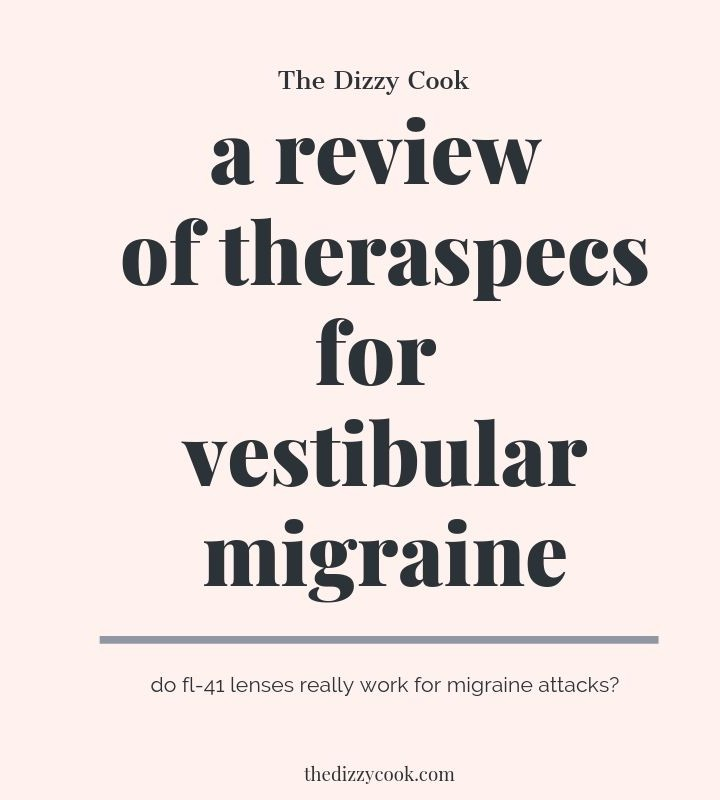 A review of theraspecs for vestibular migraine