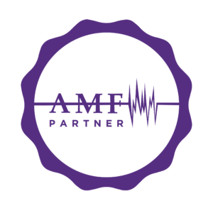 A picture of the AMF partner logo