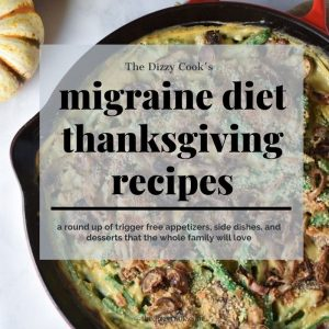 migraine diet thanksgiving recipes