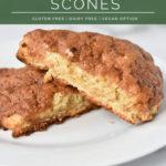 Cinnamon oat scones