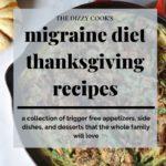 migraine diet thanksgiving recipes