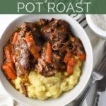Healthy and hearty pot roast