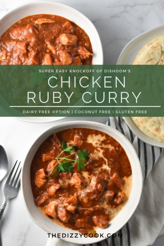 Chicken Ruby Curry without Coconut