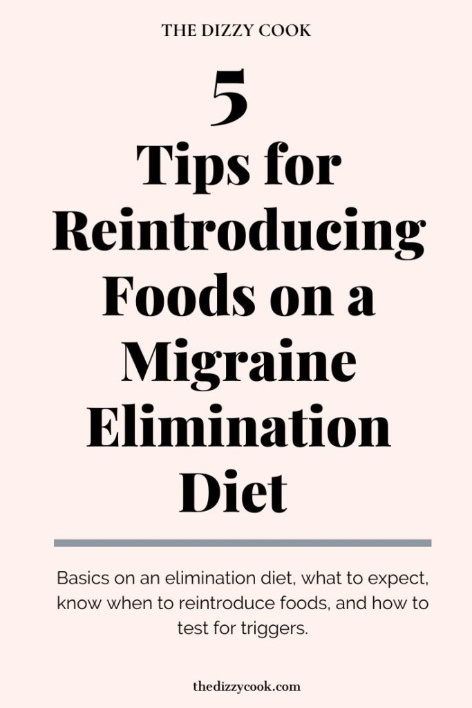 5 Tips for Reintroducing Foods on a Migraine Elimination Diet