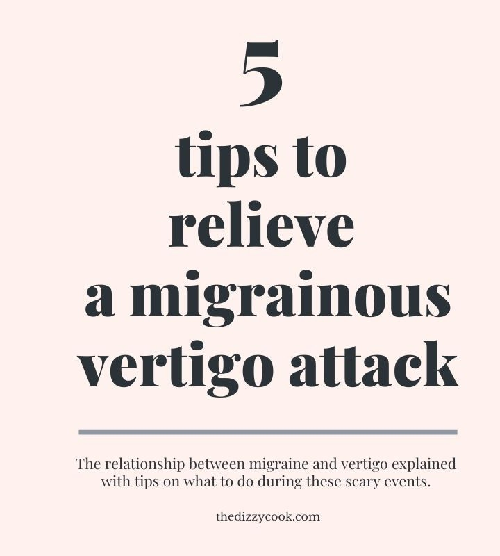 5 tips to relieve a migrainous vertigo attack post