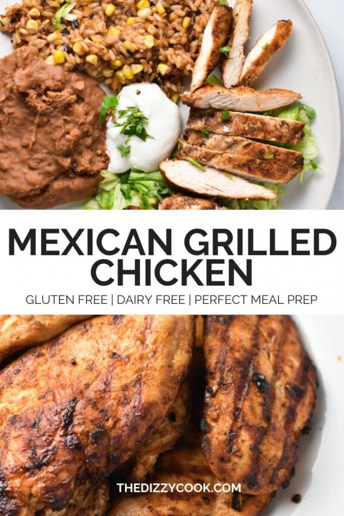 Easy Mexican Grilled Chicken
