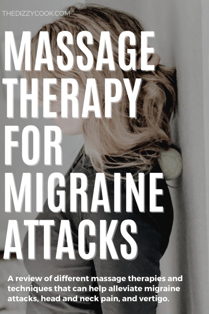 Massage therapy for migraine attacks pin