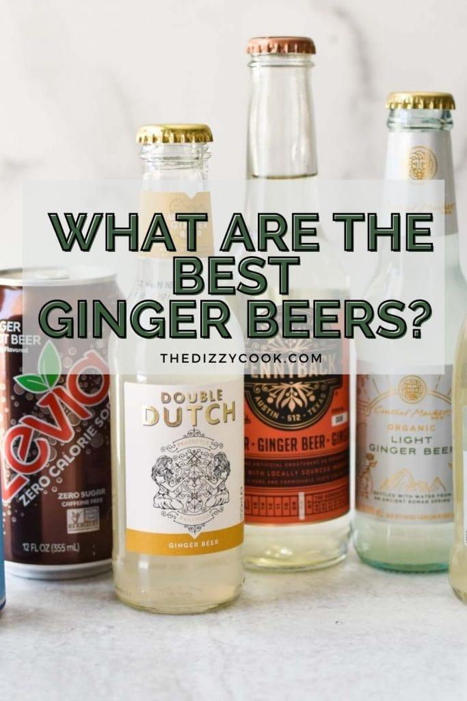 A line up of zevia, fever tree, and regatta ginger beer